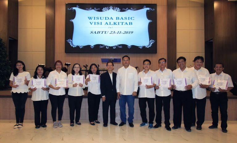 The Graduation of Vision Bible School (SAV) GPPI Pondok Daud in collaboration with GSJA  Cendrawasih, West Jakarta